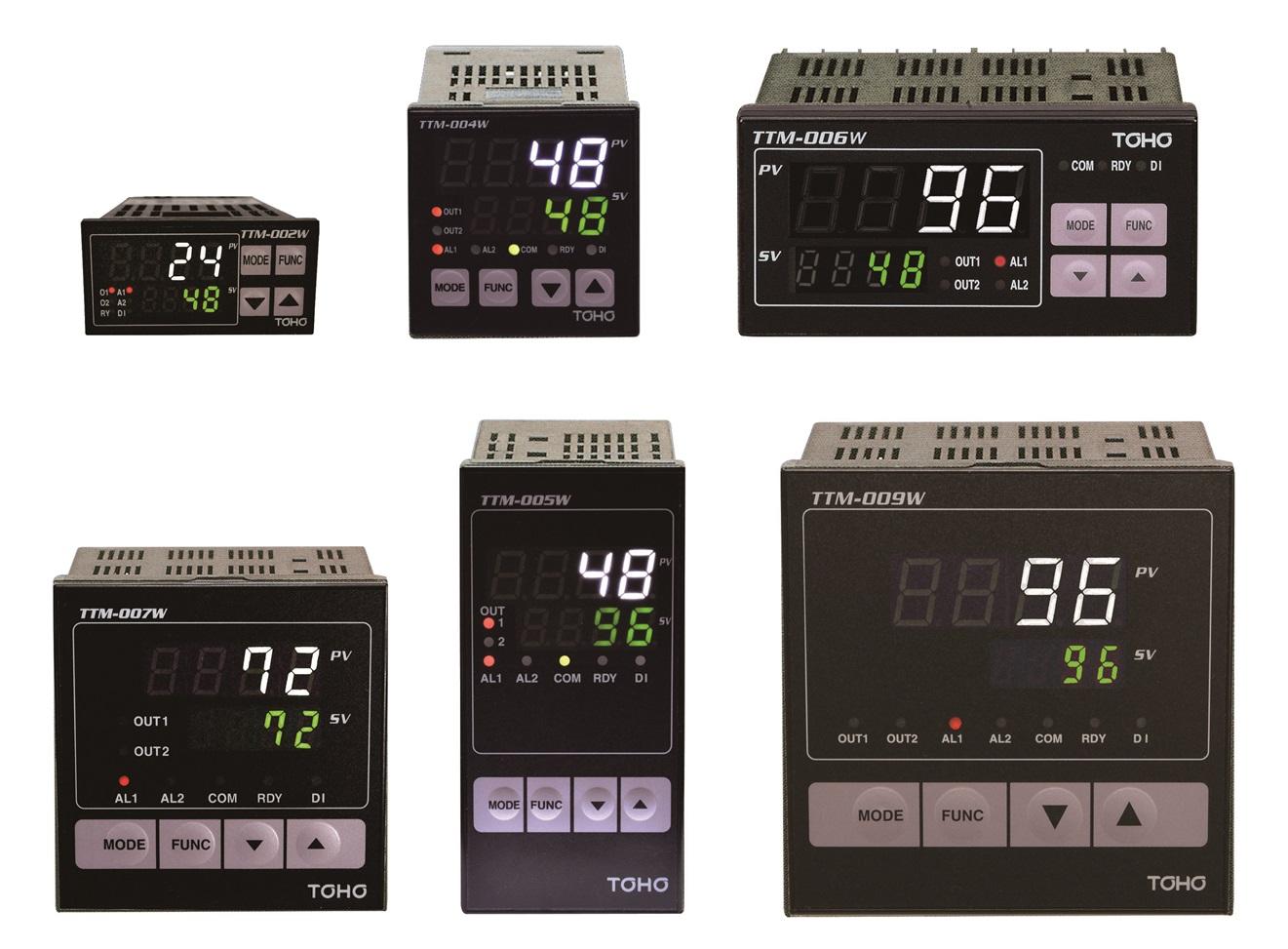 デジタル指示調節計 TTM-000Wシリーズ