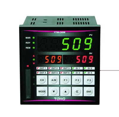 高性能2chデジタル指示調節計TTM−509