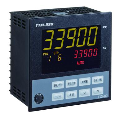 プログラムデジタル指示調節計 TTM-339