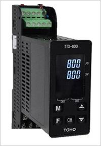 DINレール型2chデジタル指示調節計 TTX-800